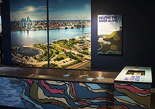 Explore the Seaport Museum's New Exhibit River Alive!