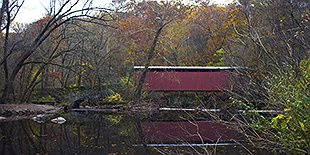 Thomas Mill Covered Bridge-Wissahickon Valley Park