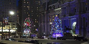 Winter at Dilworth Park